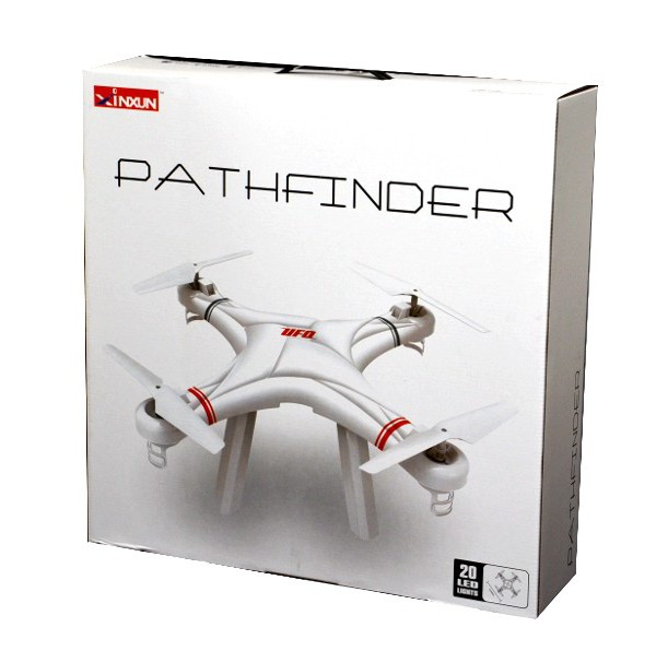 Quadcopter pathfinder 5