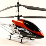 Crasht RC helicopter snel?