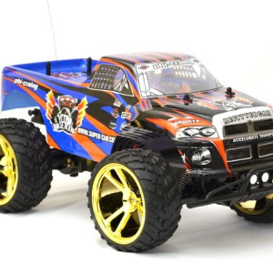 Big Wheel Monster truck rckopen-denza 9023