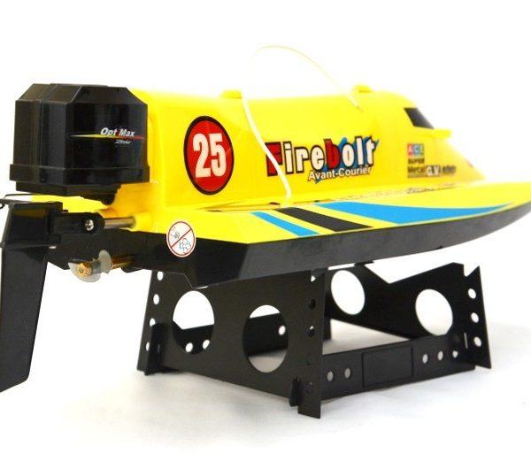 Speedboot Pioneer geel 3
