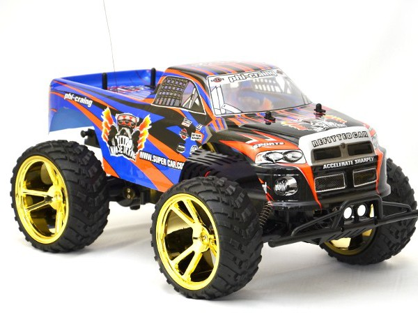 Big Wheel Monster truck rckopen-denza 9023